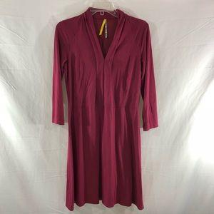 Lole Mini Shawl Collar Knit Dress Size M